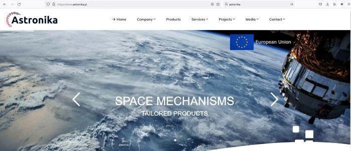 Astronika Website